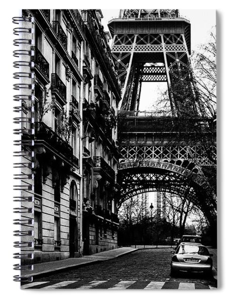 Eiffel Tower - Classic View Spiral Notebook