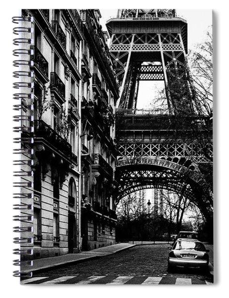 Eiffel Tower - Classic View Spiral Notebook