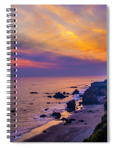 El Matador Sunset Spiral Notebook