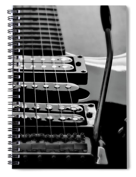 Electric Guitar Pickup Spiral Notebook