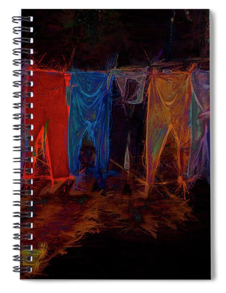 Electric Washline Spiral Notebook