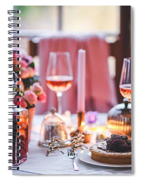 Elegant Tablewear Spiral Notebook