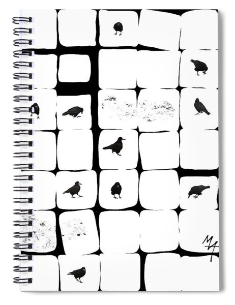 Eleven Rooks Spiral Notebook