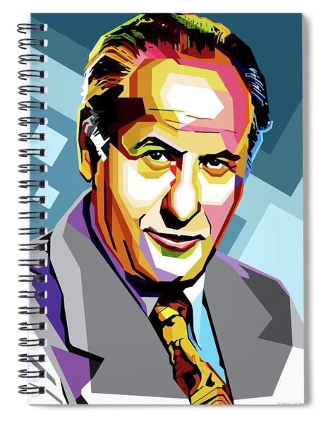 Eli Wallach Spiral Notebook