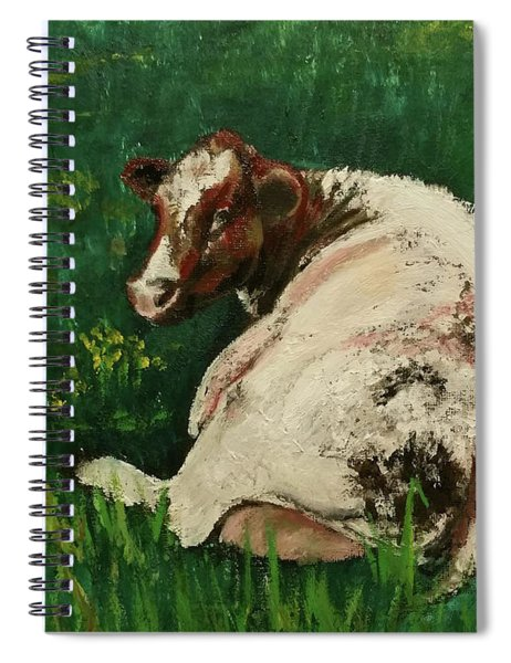 Elise Reclining Spiral Notebook