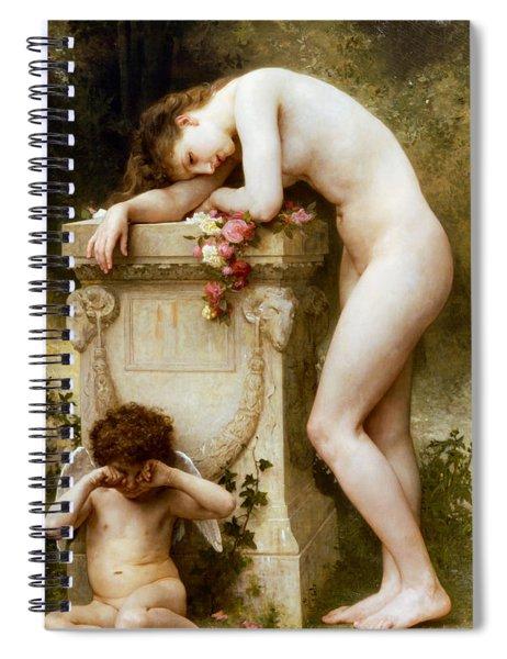 Ellergy 1899 William Bouguereau Spiral Notebook