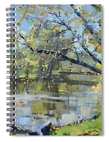 Ellicott Creek Park Spiral Notebook