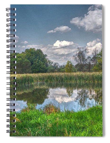 Ellis Pond Spiral Notebook