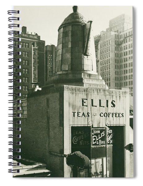 Ellis Tea And Coffee Store, 1945 Spiral Notebook