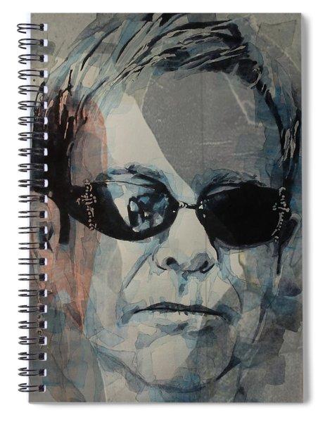 Elton John  Rocket Man  Spiral Notebook