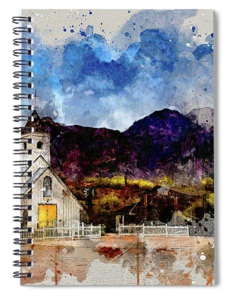 Elvis Chapel Spiral Notebook