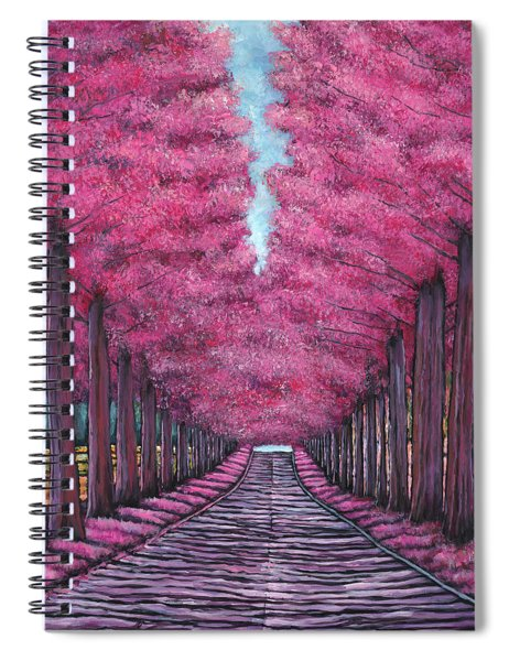 Emerald Avenue Spiral Notebook
