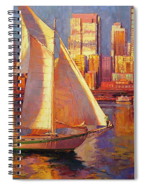 Emerald City Twilight Spiral Notebook