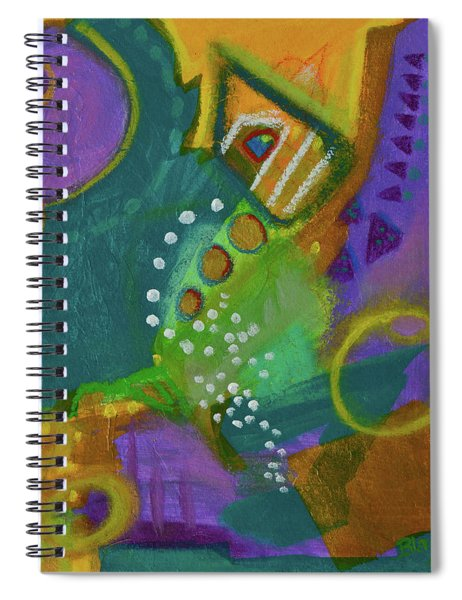 Emerald Dreams Spiral Notebook