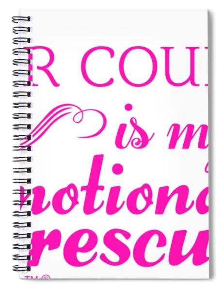 Emotional Rescue Spiral Notebook