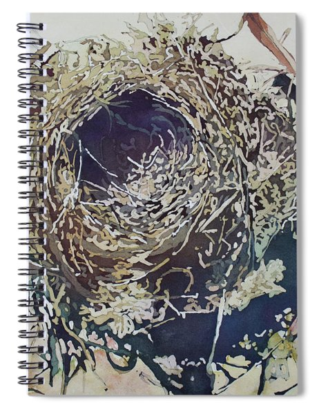 Empty Nest Spiral Notebook