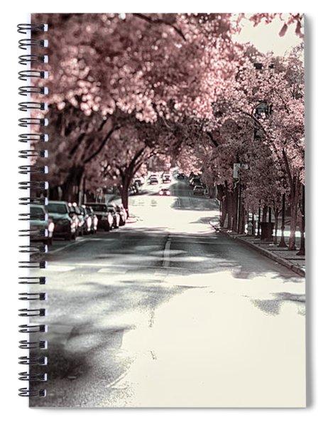 Empty Street Spiral Notebook