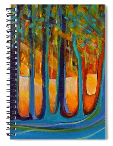 Enchanted Forest Fairy Tales Spiral Notebook