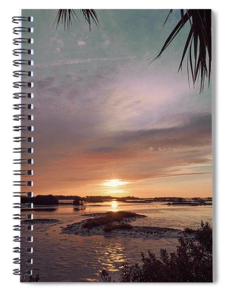 Enchanting Evening Spiral Notebook