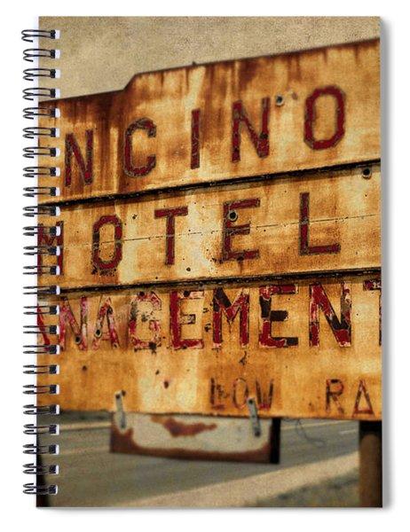 Encino Hotel Spiral Notebook