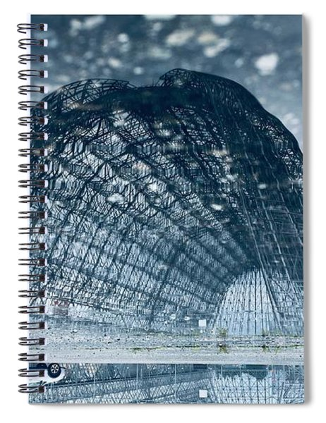 Encounters Of The Third Kind Spiral Notebook