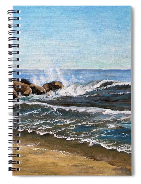 End Of Jetty Spiral Notebook