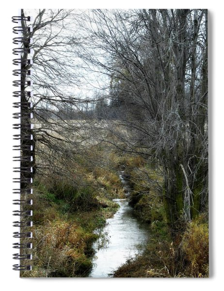 End Of The River Spiral Notebook