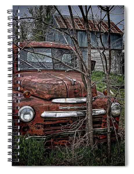 End Of The Road Spiral Notebook