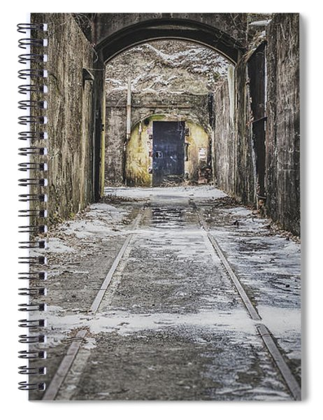 End Of The Tracks Spiral Notebook