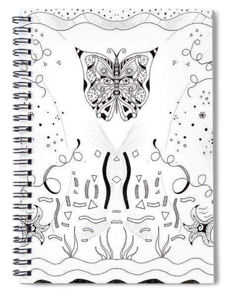 Endless Flow 3 Spiral Notebook