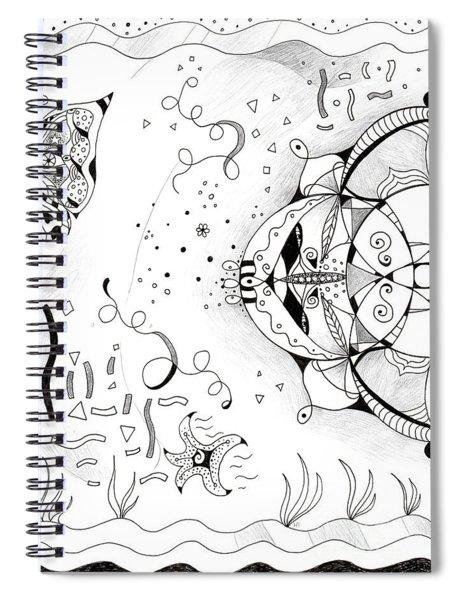 Endless Flow Spiral Notebook