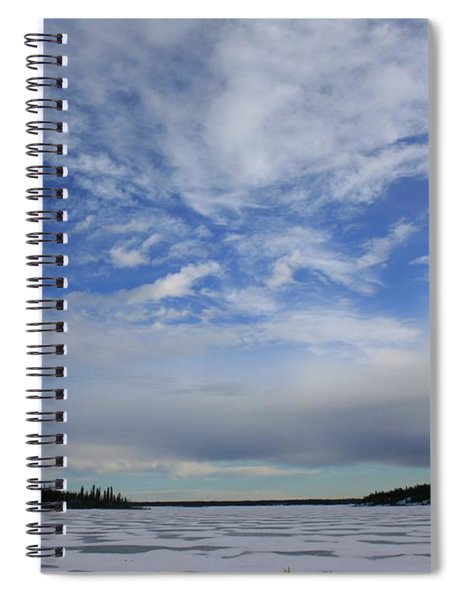 Endless Sky Spiral Notebook
