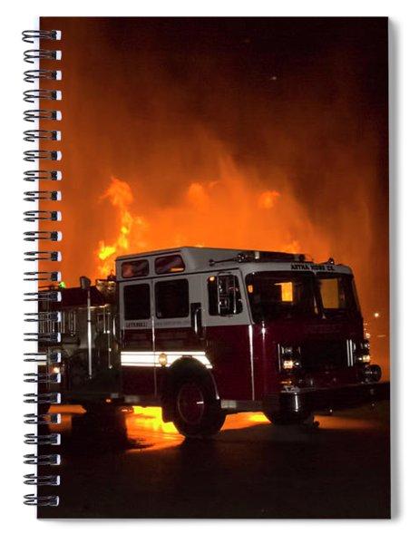 Engine 2 Spiral Notebook