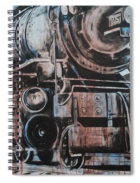 Engine #25 Spiral Notebook