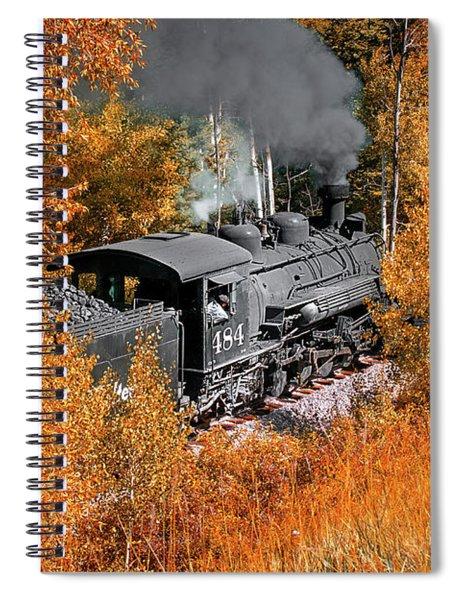 Chugging Along Spiral Notebook