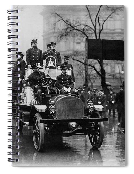 Engine 91 Fdny 1910 Spiral Notebook