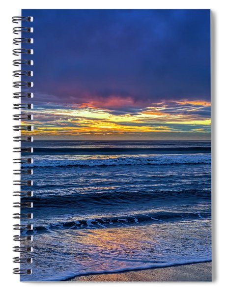Entering The Blue Hour Spiral Notebook
