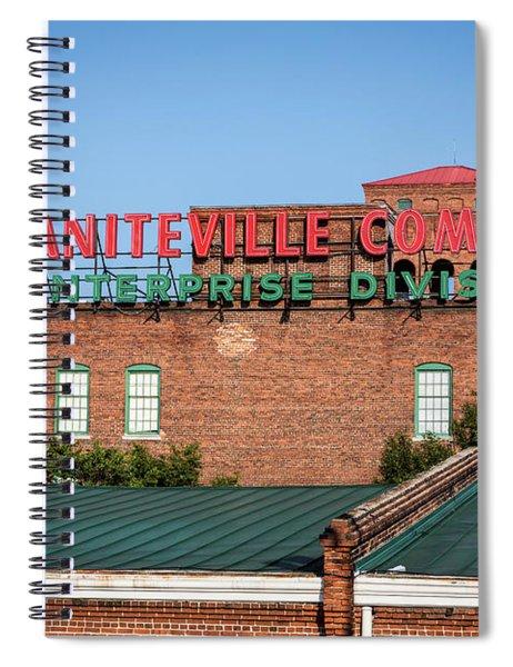 Enterprise Mill - Graniteville Company - Augusta Ga 2 Spiral Notebook