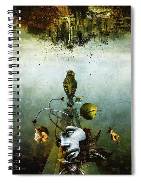 Ephemeral Architecture Spiral Notebook