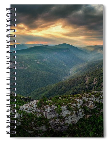 Epic Linville The Chimneys Spiral Notebook