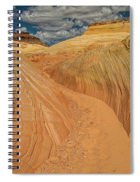 Escalnte Color-scape #3  Spiral Notebook