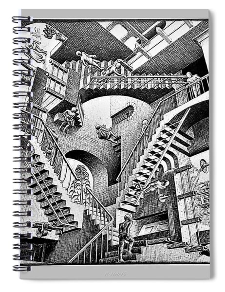 Escher 131 Spiral Notebook