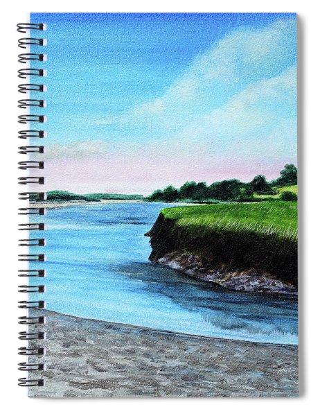 Essex River South Ipswich Spiral Notebook