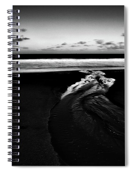 Estuary To The Sea Spiral Notebook