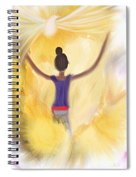 Eternal Presence Spiral Notebook