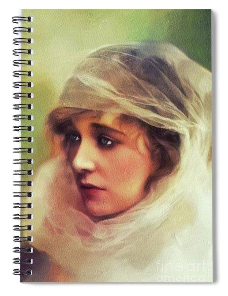 Ethel Clayton, Vintage Actress Spiral Notebook