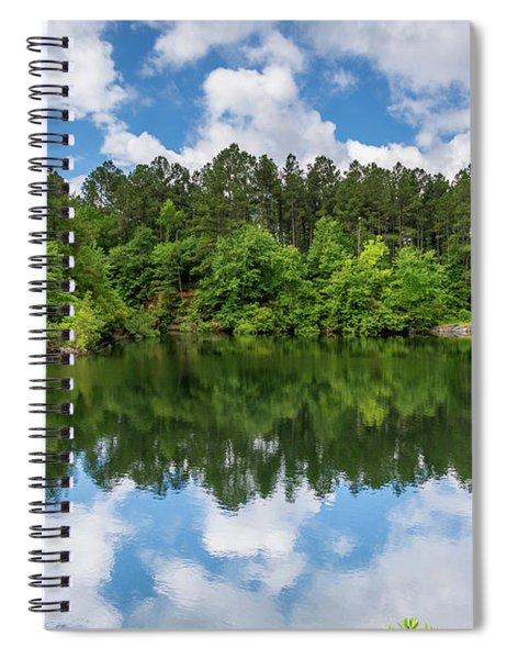 Euchee Creek Park - Grovetown Trails Near Augusta Ga 1 Spiral Notebook