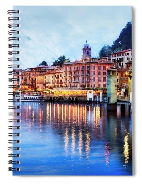 Evening At Bellagio Spiral Notebook by Scott Kemper