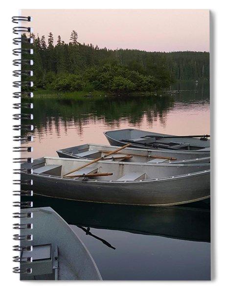 Rowboats Spiral Notebook
