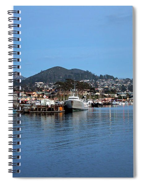 Evening In Morro Bay Spiral Notebook